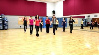 A Girl Like You Line Dance Dance Teach In English 中文