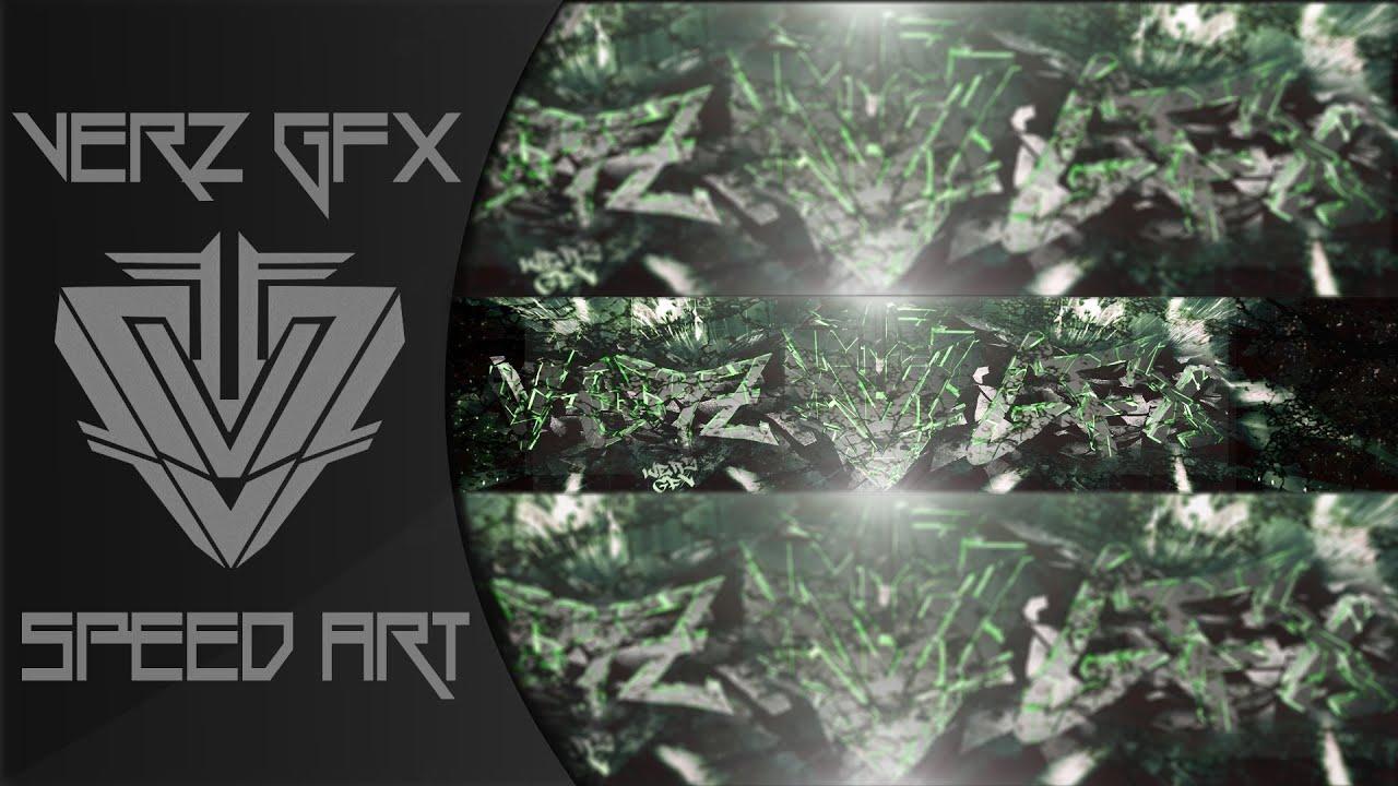 New Banner SpeedArt #6 - Verz GFx