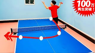 How to Get the Most side spin Serve[PingPong Technique]WRM-TV