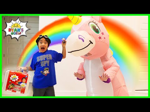 Super Spy Ryan and the case of Unicorn Daddy!!!