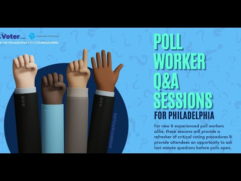 Poll Worker Q&A Session - 10/28/20
