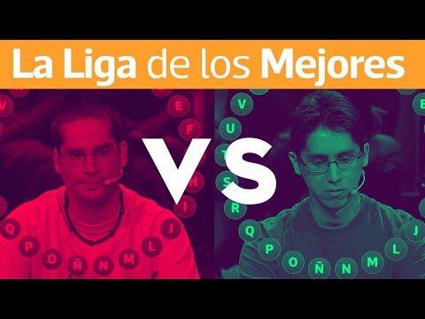 Pasapalabra - La Liga De Los Mejores | Daniel Araya Vs Felipe Morales