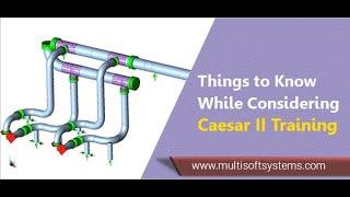 CAESAR II Course | Pipe Stress Analysis |  A PIPE STRESS ANALYSIS SOFTWARE screenshot 5