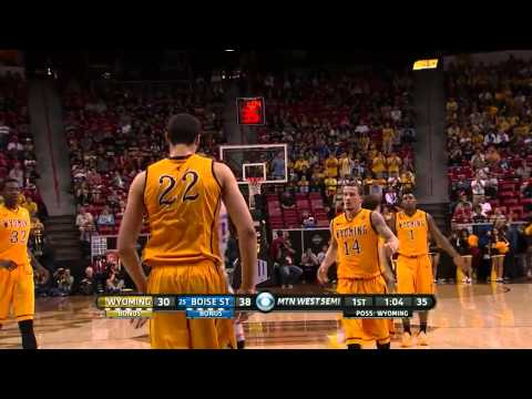 Wyoming Cowboys Basketball 2015 MWC Championship