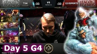 TSM vs G2 eSports | Day 5 LoL MSI 2017 Group Stage | TSM vs G2 Game 2 Mid Season Invitational
