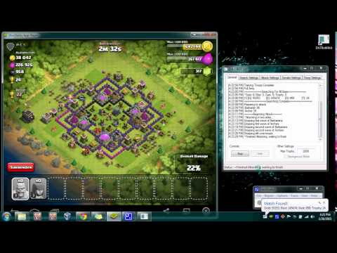 (FREE) Clash Of Clan Bot 100% Working 5-3-15