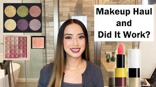 Makeup Haul And Did It Work | Surratt, Flower Beauty, Hermes, Augustinus Bader