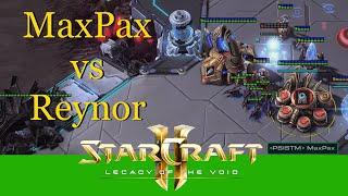MaxPax VS Reynor #1 (PvZ) - Starcraft 2: Profi Replay Cast [Deutsch   German]
