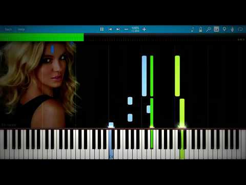 Britney Spears - Everytime | Synthesia Piano Tutorial