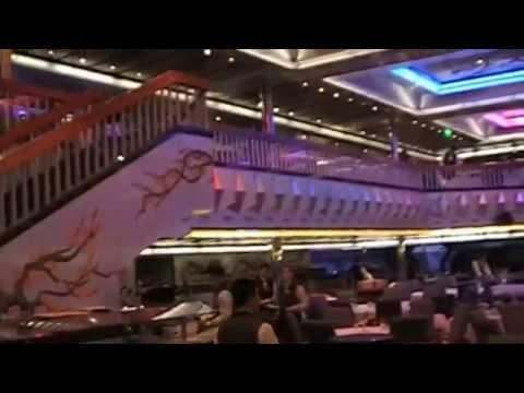 Carnival Cruise Ship Glory  Platinum Restaurant Tour