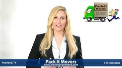 Pearland Movers - Moving Company in Pearland TX