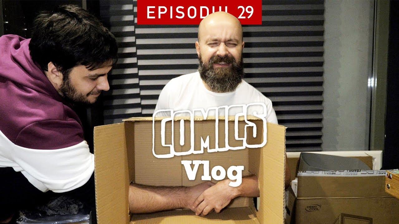 Ce naiba este în cutie?! | Comics VLOG #29