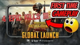 PUBG mobile game | 4 Epic kills | first gameplay | GaminG WitH RoY