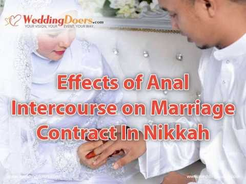 Anal intercourse in marriage