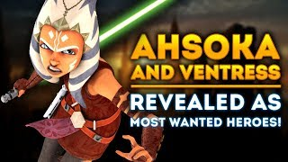 Ahsoka & Ventress Revealed as Most Wanted Clone Wars Heroes for Star Wars Battlefront 2!