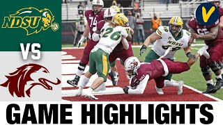 #1 North Dakota State vs Southern Illinois Highlights | 2021 Spring College Football Highlights
