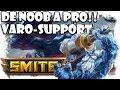 De Noob a Pro: Smite | Varolete Support y David Arnaiz ADC | Gameplay Español