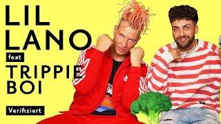 """Lil Lano & Trippie Boi """"Brokkoli + Codein 2.0""""💚💜 Official Lyrics & Bedeutung   Verified thumbnail"""