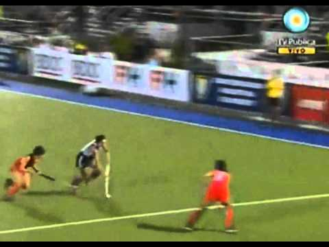 Luciana Aymar best goal in world cup.wmv