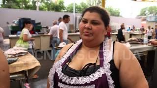 одесский рынок Привоз - продавщица (рыба)