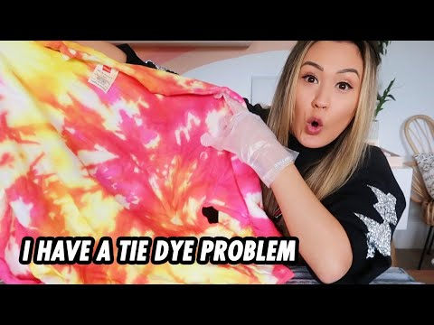 tie-dye with me: 5 more sweaters cuz im addicted