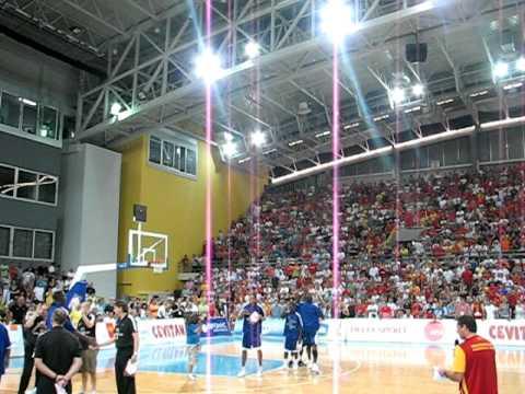 Macedonia - Great Britain Basketball Introduction