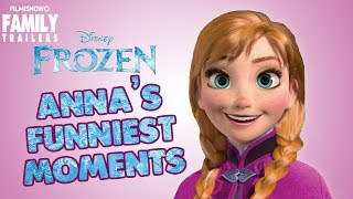 FROZEN | Anna's Best Funny Moments