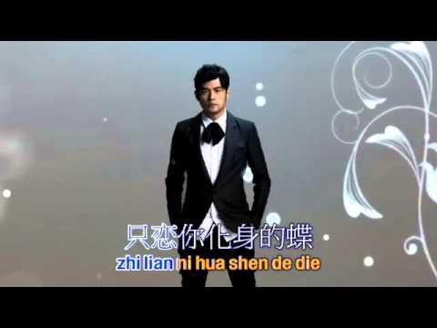 Fa Ru Xue   Hair Like Snow Lyrics On The Screen