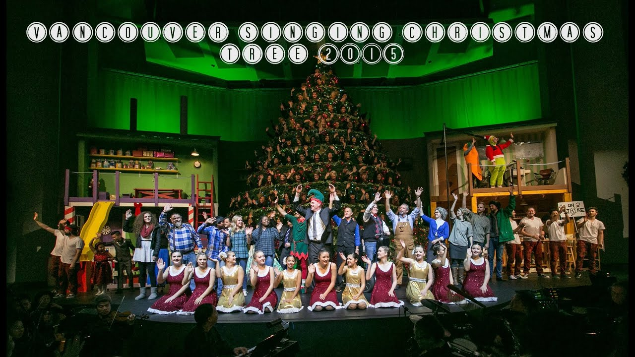 Vancouver Singing Christmas Tree 2015 Broadway Church | By Victoria Paikin