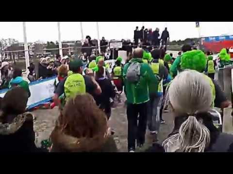 UNION SPORTIVE AIGREFEUILLE ATHLETISME arrivée de Dédé et Jojo marathon