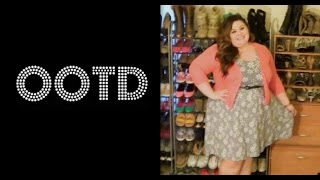 Plus Size OOTD: Floral & Coral Thumbnail