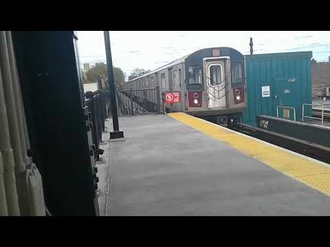 Not in service Train Bypass Saratoga Avenue