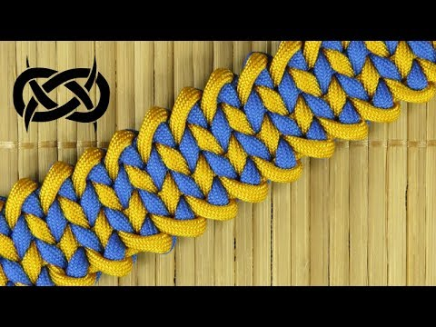 How to weave the Manta Ray Paracord Bracelet