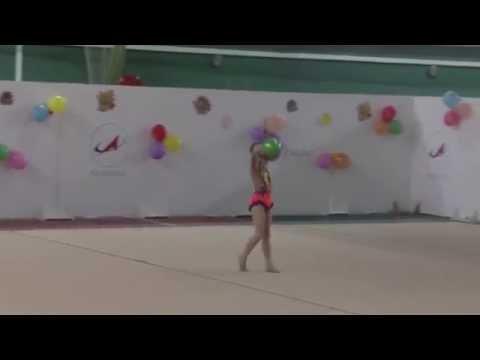 Тарасенко Елизавета мяч