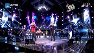 [vietsub] (The Voice Of China) Bầu Trời ước Mơ Xanh ơi Là Xanh ~