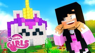 MINHA CASA DE UNICÓRNIO #10 - MY LITTLE GIRLS - Server Minecraft