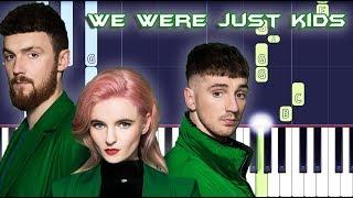Clean Bandit - We Were Just Kids Piano Tutorial EASY (Piano Cover) (feat. Craig David & Kirsten Joy)