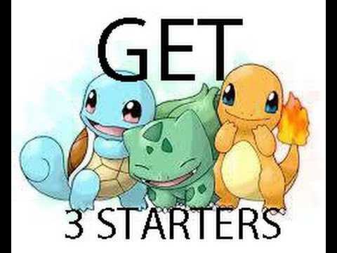 get all starters fire red