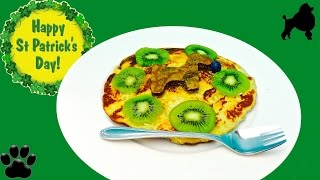 How To Make Puppy Pancake Kiwifruit Hotcake Griddle Cake Diy Dog Food By Cooking For Dogs