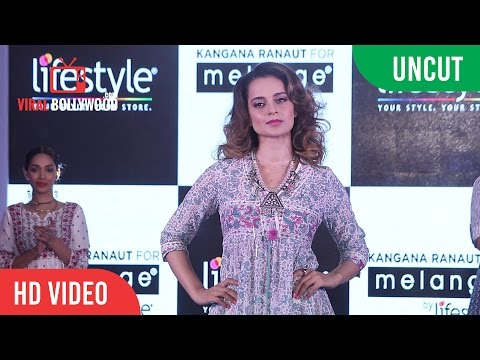 UNCUT - Melange Latest Collection Launch | Kangana Ranaut | Melange Lifestyle