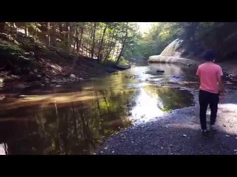 Geyser Creek in Saratoga Springs NY