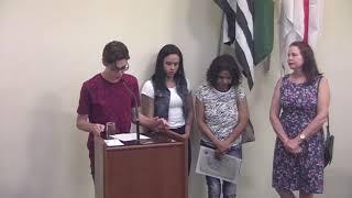8ª Sessão Ordinária - Câmara Jovem de Araras