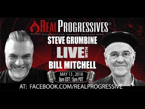 Steve Grumbine - Bill Mitchell joins us tonight discussing open economies, balance of trade and more