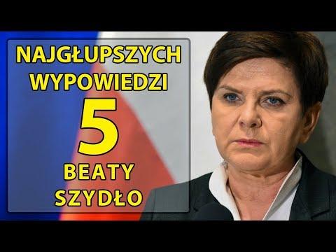 5 najgłupszych wypowiedzi Beaty Szydło.