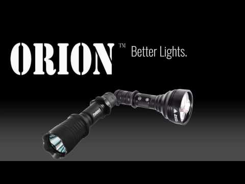 Orion Predator Hunting Lights M30C H30 and H20 for Coyote, Hog, Fox and Varmint Hunting