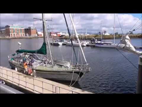 Ocean going expedition yacht Kiwi Roa Belfast Marina