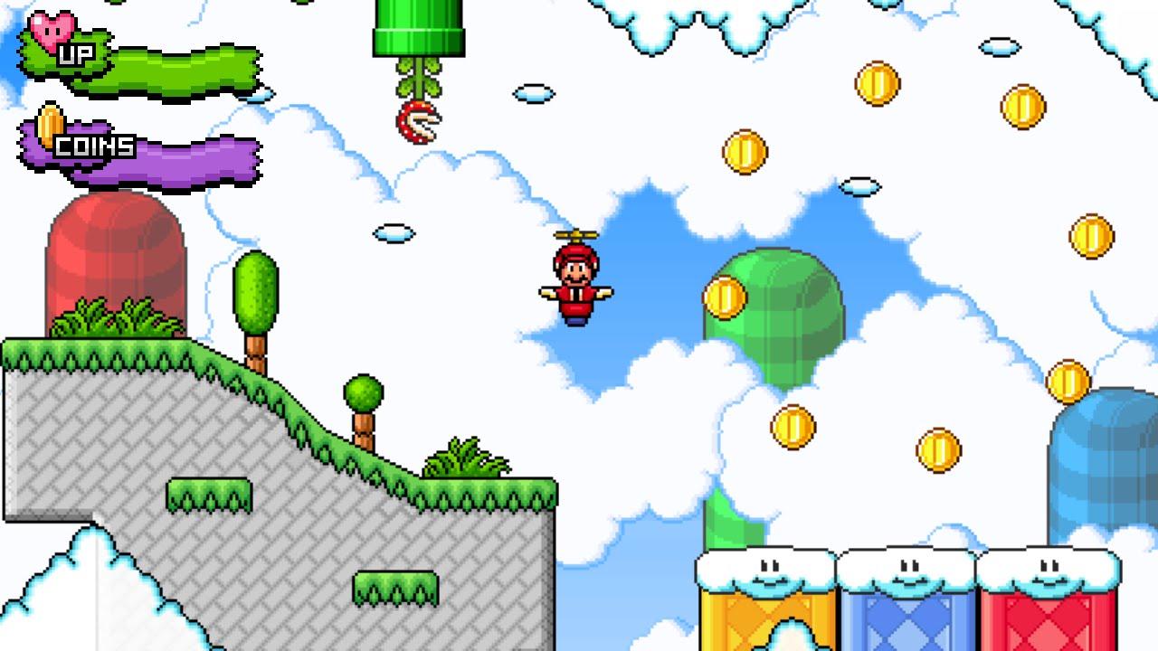 Redigit vuelve al proyecto de Super Mario Bros X y sacara oficialmente la 1.5