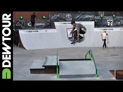 Chris Cole, Skate Street: Zone 1, Toyota City Championships Brooklyn 2014