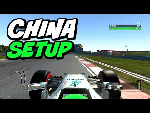 F1 2016 China Hotlap + Setup (1:33.887)