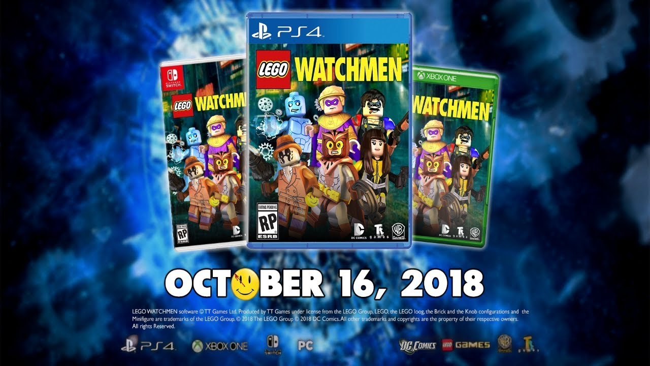 LEGO Watchmen The Video Game Leaked By Amazon? Replacing ...